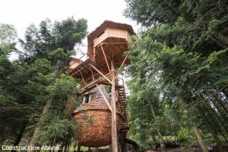 Les trois cabanes perchées de Bol d'Air dans les Vosges