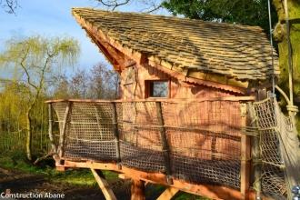 3 Cabanes perchées à la Chouette Cabane en Mayenne