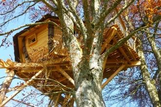 Cabane Pourpre au Domaine de Chaligny en Bourgogne